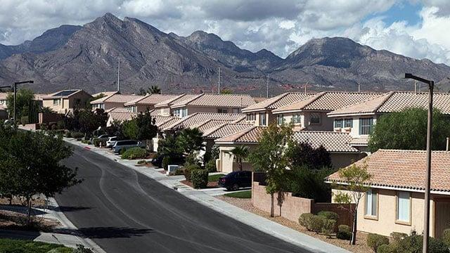 A neighborhood in Summerlin South (Google).