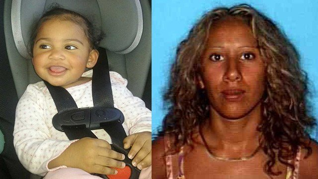 Police said a California woman abducted her daughter and and may have gone to Las Vegas.