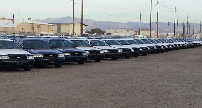 The Clark County Surplus Auction has sold law enforcement vehicles as well as school buses.