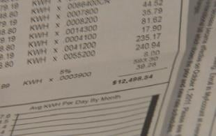 One Las Vegas resident received a $12,498.54 bill after his meter was installed