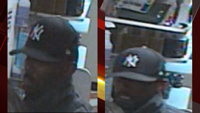 Police released surveillance images of a man suspected of punching a convenience store clerk. (Source: HPD)