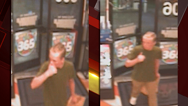 Police released images of a man suspected of robbing a convenience store on May 8, 2018. (Source: HPD)