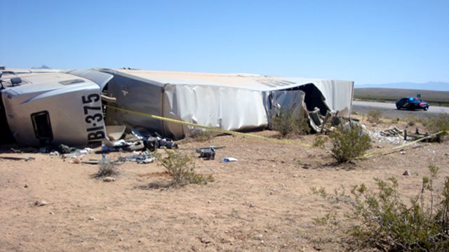 The truck was contracted by the United States Treasury Department. (Source: NHP)