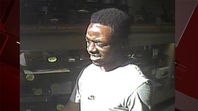 A suspect in a triple shooting is pictured on May 8, 2018. (LVMPD)