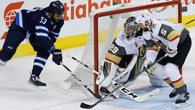The Vegas Golden Knights willplay the Winnipeg Jets for a spot in the Stanley Cup Finals. (Photo: AP)
