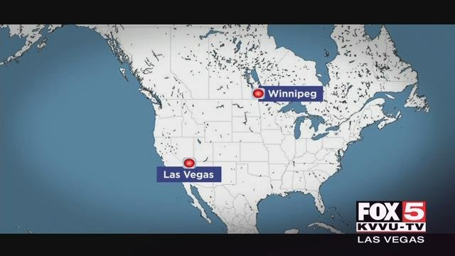 It's about 1,600 miles away from the Las Vegas Valley, but this weekend all eyes in southern Nevada will be on Winnipeg as the Golden Knights take on the Winnipeg Jets in the Western Conference Final.