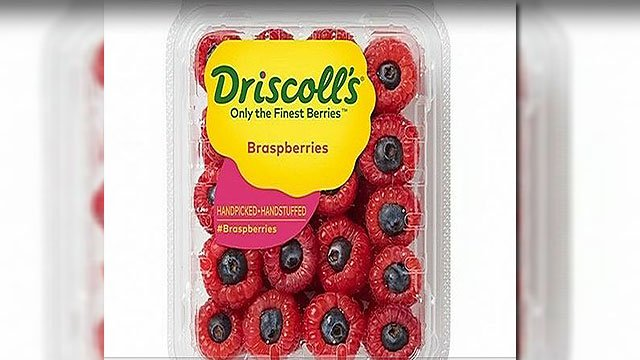 Driscoll's created the 'brasperries' as a response to Justin Timberlake's viral video (Dricoll's).
