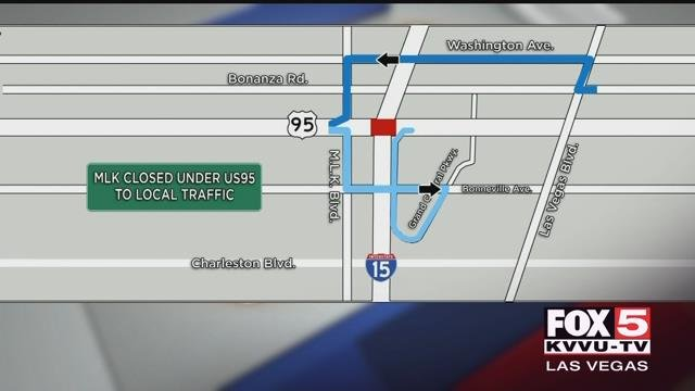 As 400,000 people come to Las Vegasfor EDC, Project Neon will begin closures. (FOX5)