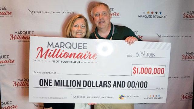 Richard Ideker, of Indiana, won $1 million at the M Resort Spa and Casino. (Source: M Resort)