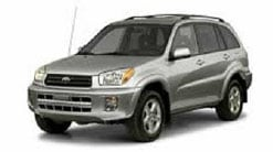 A Toyota Rav4, the same vehicle Anthonisen was driving, is shown in a stock image.
