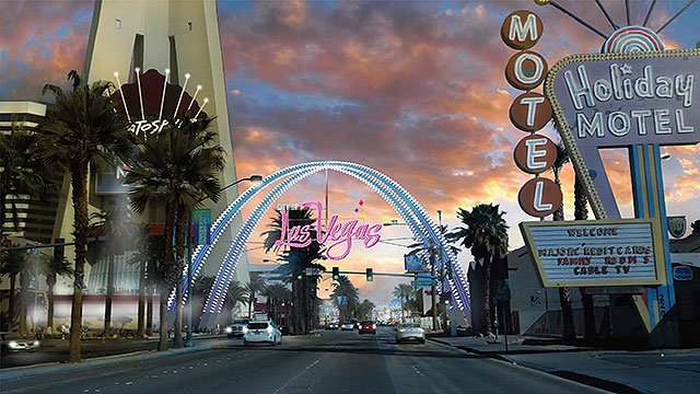 A new sign will soon welcome visitors to downtown Las Vegas (Carolyn Goodman / Twitter).