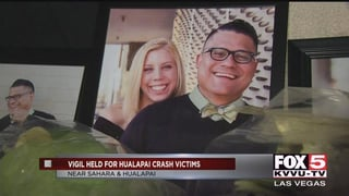 01:42 · Family and friends hold vigil for Las Vegas couple killed by  impaired driver