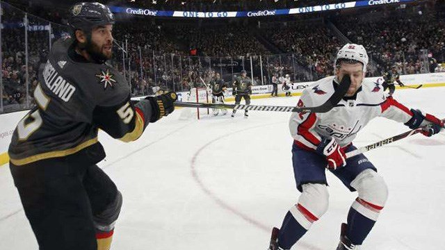The Golden Knights will open the Stanley Cup Final at home vs. the Washington Capitals. (Photo: John Locher / AP)