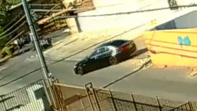 Police released images of the suspect's vehicle. (Source: LVMPD)