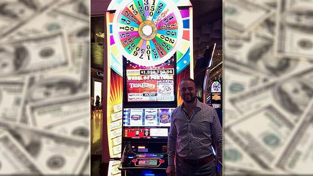 A Canadian tourist took home more than a million dollars after hitting the jackpot on a slot machine (Cosmopolitan of Las Vegas / FOX5).