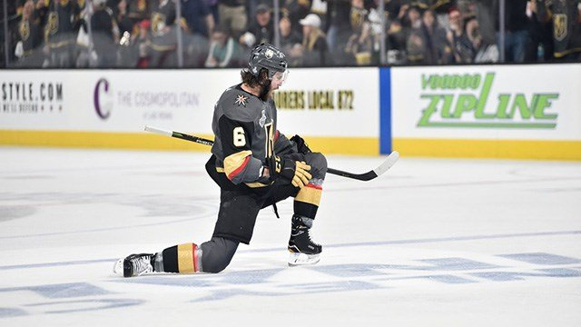 The Vegas Golden Knights' incredible inaugural season isn't slowing down in the Stanley Cup Final. (Photo: Vegas Golden Knights)