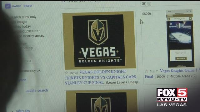 Two active duty Marines said they were scammed out of $2,000 when they tried to cash in on a Memorial Day deal to Monday's Stanley Cup Final game.
