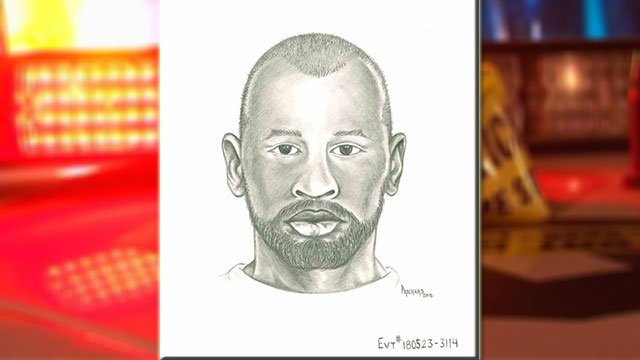 Metro police released a sketch of the suspect in connection with the sexual assault of an 11-year-old girl (LVMPD / FOX5).