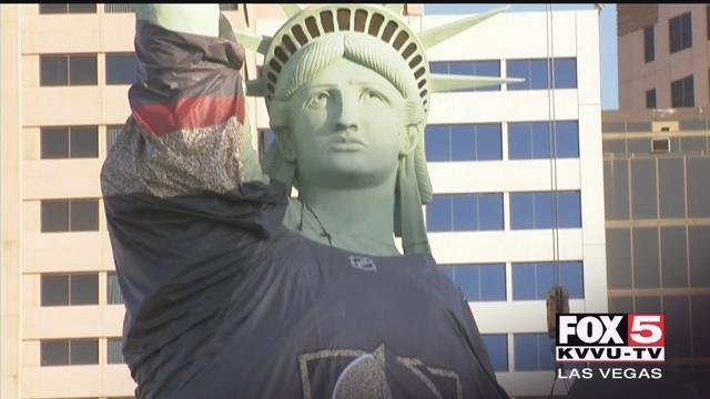 As the Vegas Golden Knights battle the Washington Capitals for the Stanley Cup title, Valley fans have beengetting creative with their fandom. (FOX5)