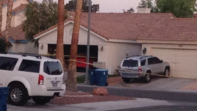 Las Vegas police said an elderly woman was shot and killed Wednesday afternoon in the northwestvalley.(Roger Bryner/FOX5)