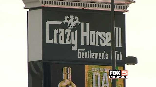 Police asked for the public's help to find the people who robbed a Las Vegas strip club earlier this month. (FOX5)