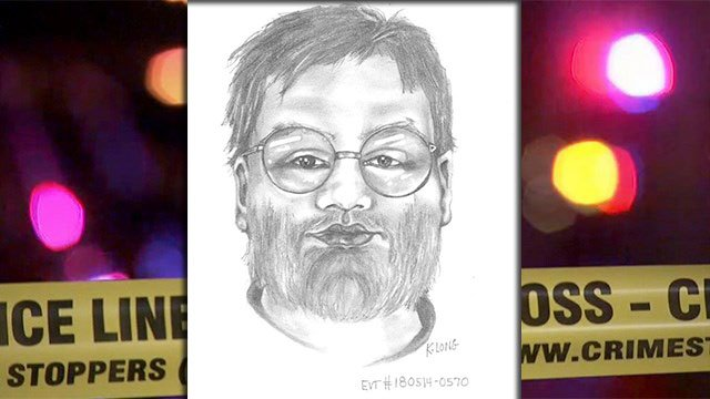 LVMPD released a sketch composite of a suspect wanted in connection to a sexual assault May 14, 2018 (Source: LVMPD).