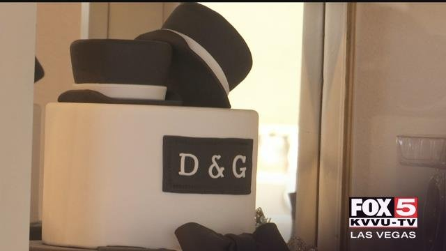 Instead of being the centerpiece of a wedding, a cake moved to the front and center of a Supreme Court battle.(FOX5)