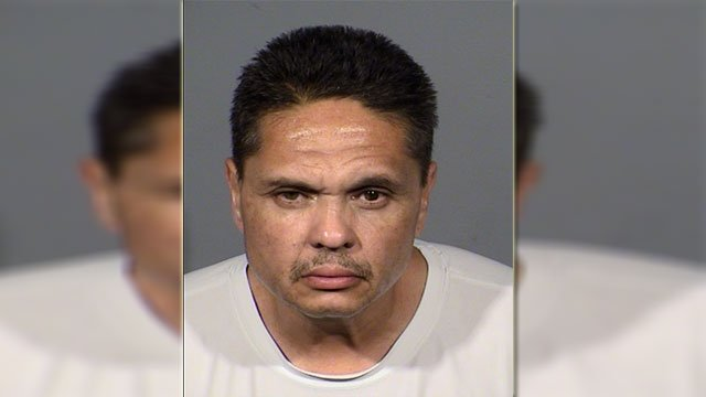 Darrell Dykeman, 50, was arrested in connection to multiple wallet thefts and a home burglary on June 2, 2018 (LVMPD / FOX5).