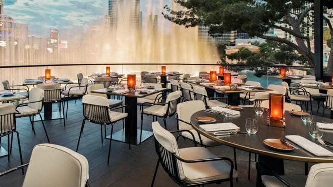 Celebrity chef Wolfgang Puck's new Spago location at Bellagio. (Courtesy: Bellagio)