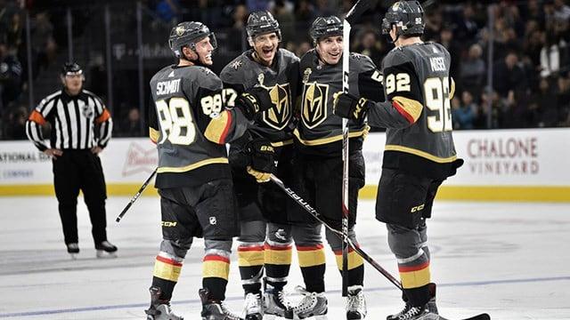 The Vegas Golden Knights' magical season came to an end Thursday. (Photo: Vegas Golden Knights)