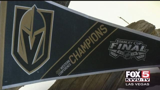 The Nevada State Museum at Springs Preserve wants to put the Golden Knights' record-breaking inaugural season on display. (FOX5)