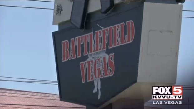 Battlefield Vegas sign. (FOX5)