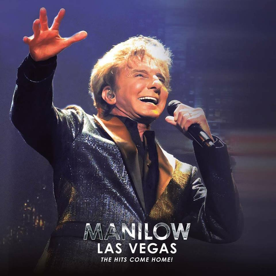 Barry Manilow show poster. (Image: Westgate Resorts)