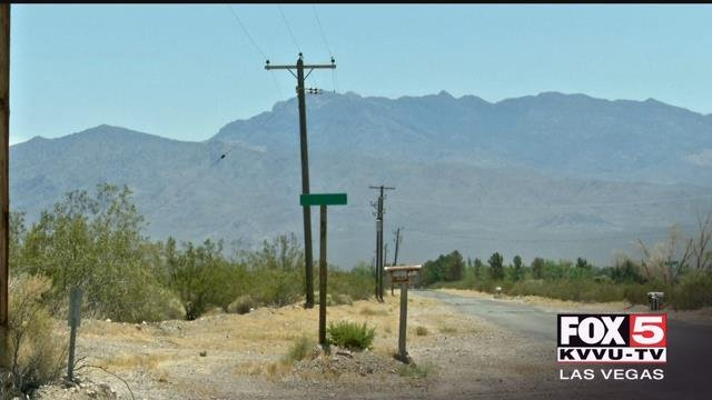 People from a small rural area outside of Las Vegas say they're suffering daily without power or water. (FOX5)