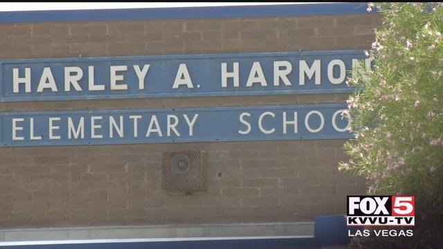 Police arrested a Las Vegas elementary school teacher Friday for felony child abuse of a student. (FOX5)