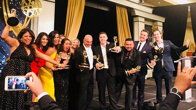 FOX5 team sweeps with 18 wins at regional Emmy awards