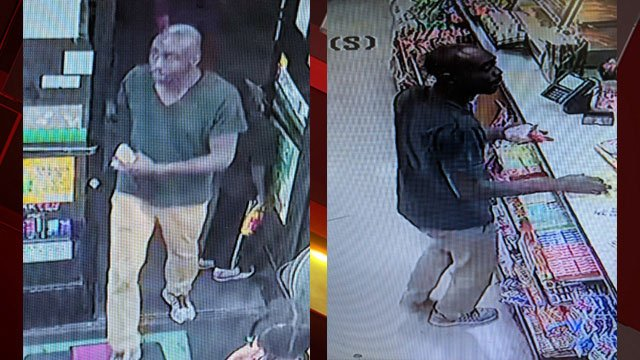 Las Vegas police released images of a stabbing suspect. (Source: LVMPD)