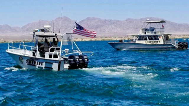 Rescue boats from the Mohave County Sheriff's Office. (Photo: Mohave County Sheriff's Office)