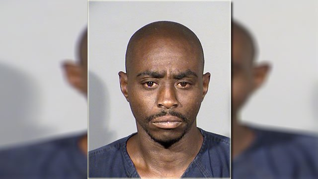 Michael Cain, 32, was arrested in connection to a deadly stabbing June 18, 2018 (LVMPD / FOX5).