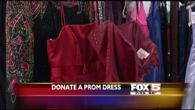 Old prom dresses needed in donation drive - FOX5 Vegas - KVVU
