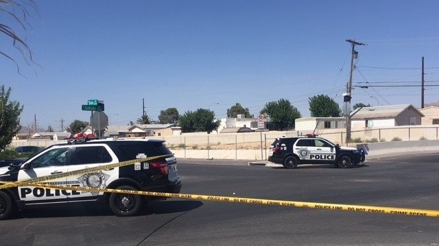 Police respond to an incident in the northeast valley on July 4, 2018. (Eric Green/FOX5)