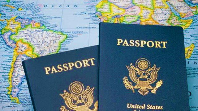 United States passports (Google / FOX5).
