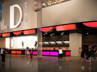 An artist's rendering of the front of the D Las Vegas when renovations become complete. (the D Las Vegas)