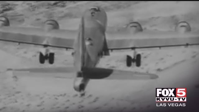 Seventy years ago, one of the most complex military planes crashed in Lake Mead.