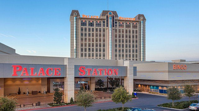 Palace Station Casino's renovated exterior. (Photo: Station Casinos)
