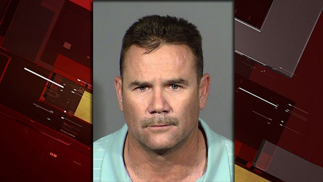 Rigoberto Flores-Tovar was arrested after crashing into a bus stop which resulted in the death of a pedestrian (Photo: LVMPD).