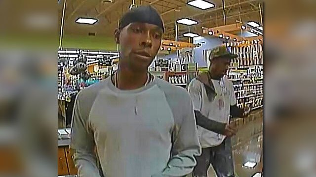 Police released surveillance images of two suspects wanted for robberies. (Source: HPD)