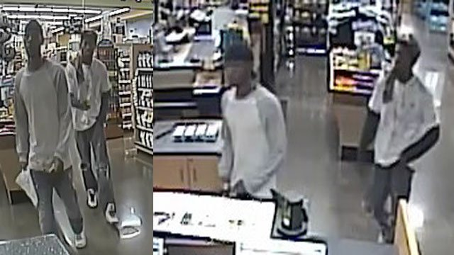 Police said the suspects may be responsible for multiple robberies in Henderson. (Source: HPD)