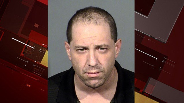 A court order was issued after 42-year-old Evan Scutero failed to appear at court forthe 2017 battery charge, CCSD Police said. (LVMPD)
