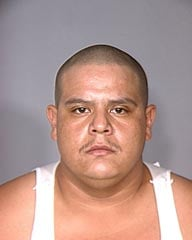 Carlos Garcia was arrested just hours after the slaying of Manuel Torres-Garcia on Tuesday. (LVMPD)
